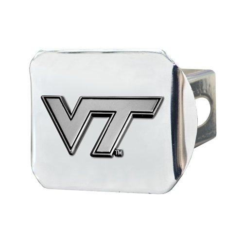 Cover Hitch Tech Virginia (Fanmats NCAA Virginia Tech Hokies Chrome Hitch Cover)