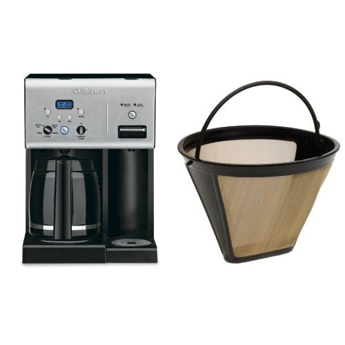 Cuisinart Coffee Plus CHW-12 Coffeemaker and Filter Bundle - Cuisinart Programmable Filter