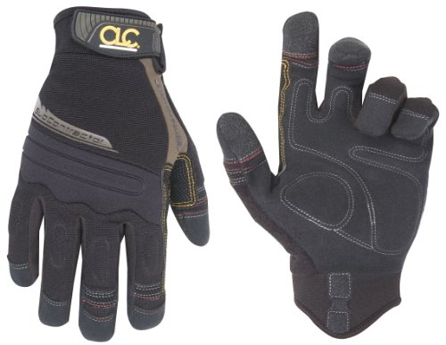 CLC Custom Leathercraft 130M Subcontractor Flex Grip Work Gloves, Medium ()