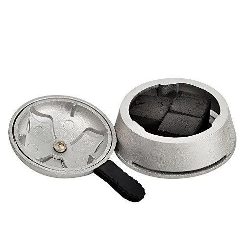 Hookah Bowl Set - Silicone Phunnel Hookah Bowl + Charcoal Holder Shisha Heat Management Bundle …