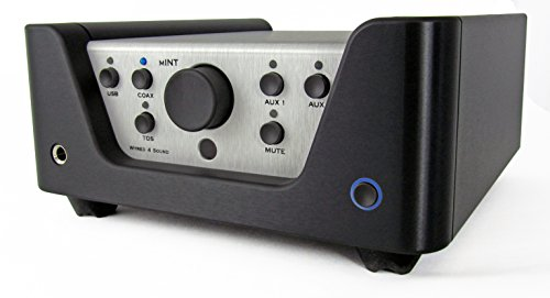 Wyred 4 Sound mINT - Award Winning Integrated Amplifier, with Built-in Headphone Amplifier and ESS Sabre DAC