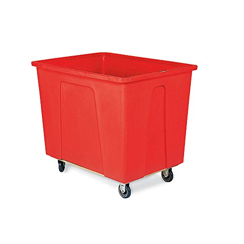 Wesco-Box-Trucks-5-Polyurethane-Casters-24Wx35-12Dx30H-Red