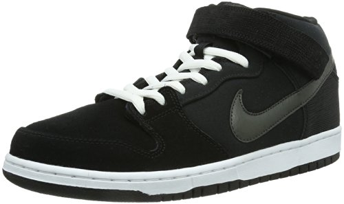 Pro Charred Dunk Schwarz Black Grey Mens Skateboard Nike Mid Skateboard Shoes Black White qatnxv