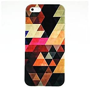 ZXC Abstract Pattern Hard Case for iPhone 5/5S