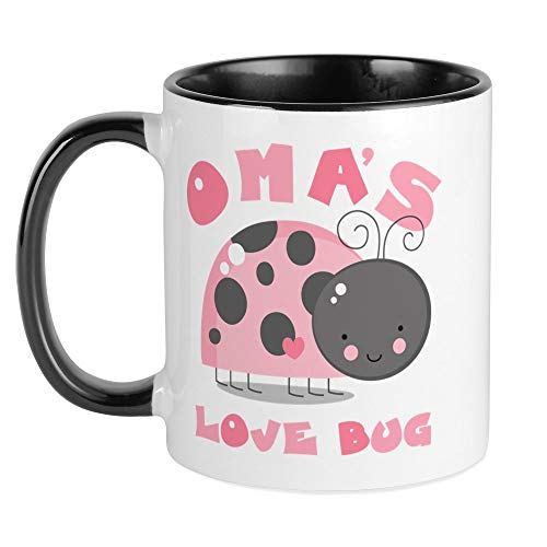 - CafePress Oma's Love Bug Mug Unique Coffee Mug, Coffee Cup