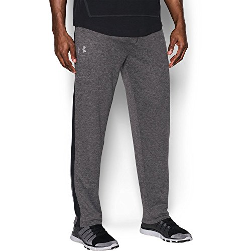 Under Armour Men's Tech Terry Pants, Carbon Heather/Black, XX-Large