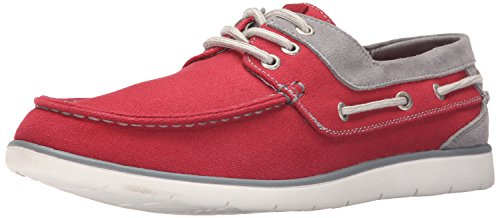 Gbx Mens East Boat Shoe Red