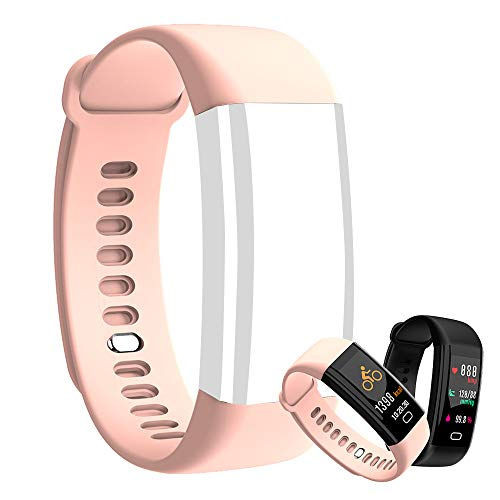 Replacement Band for Eway EasyJoy Cafar Letuboner F07 F07HR F09 F09HR,Silicone Replacement Accessory Band,NOT Fitness Tracker F07 F07HR F09 F09HR (Pink)