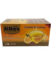 Beit Al Atar Cumin and Lemon Tea - 20 sachets - Cumin and Lemon - Authentic Lebanese Product - Trusted Quality and Taste