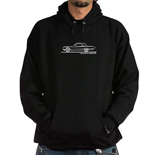 CafePress 1964 Ford Thunderbird Hard Top Pullover Hoodie, Classic & Comfortable Hooded Sweatshirt Black