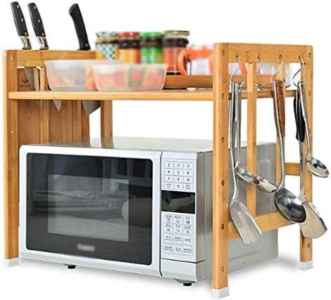 Amazon.com: QYJpB - Estante de cocina de madera para ...