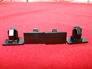 Dodge Chrysler Charger Magnum 300 BLACK ROCKER PANEL MOULDING CLIP clips