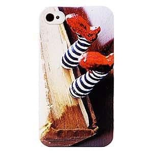 Conseguir Zapatos del payaso de nuevo caso para el iPhone 4/4S