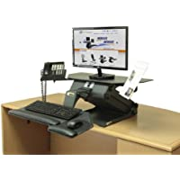 HealthPostures TaskMate Executive 6100 Adjustable Electric Standing Desk