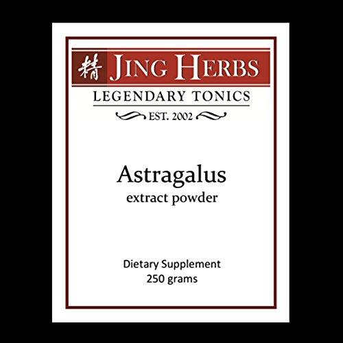 Jing Herbs Astragalus Extract Powder 250 Grams