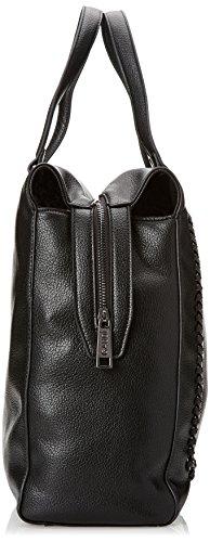 sac x à Noir Tote H 32x34x14 Black cm Noir x femme Agata Gaudì L EU main W Linea qwZpIttxg
