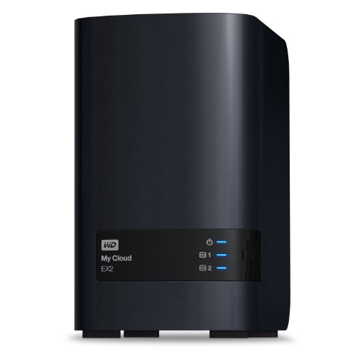 WD   My Cloud EX2 Diskless Network Attached Storage - NAS -