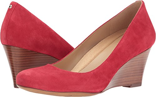 Naturalizer Women's Emily Wedge,Hot Sauce Suede,US 9 M (Shoes Naturalizer Suede)