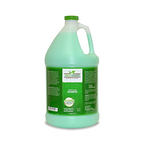 Groom Shampoo (Green Groom Clean Shampoo, 1 Gallon, Green)