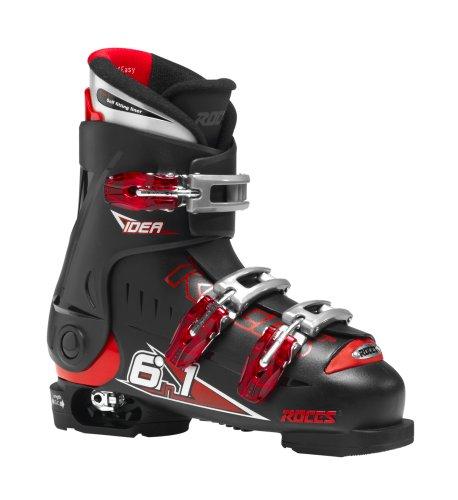 Roces Kinder Skischuhe Idea 22.5-25.5 MP, Black-Red, 36/40, 450502-001