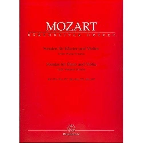 Mozart W.A. Sonatas for Piano and Violin Volume 2: Early Viennese Sonatas - by Eduard Reeser