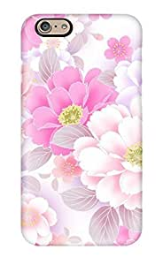 Snap-on Case Designed For Iphone 6- Flower S