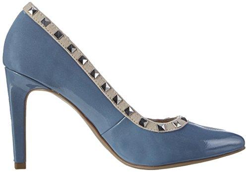 Marco Tozzi 22449, Zapatos de Tacón para Mujer Azul (Denim Comb 853)