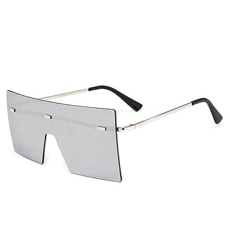 Yangjing-hl Gafas de Sol siamesas Tendencia Street Shooting ...