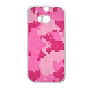 Pink Mosaic Fashion Personalized Phone Case For HTC M8