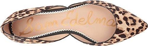 Sam Edelman Brahma Jungle Sand Hair Women's Leopard Flat Ballet Rodney OOwdrAx8