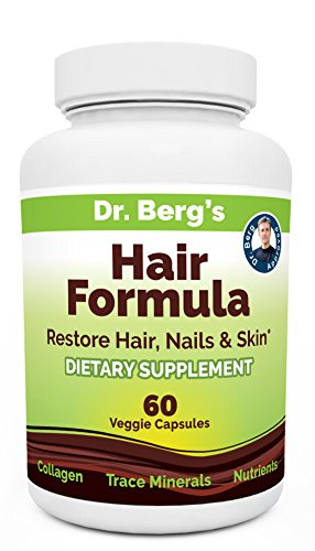Dr-Bergs-Hair-Loss-Formula-Supplement-for-Fast-Hair-Growth--Helps-Nails-Skin-too-DHT-Blocker-with-Biotin-Collagen-Type-III-Trace-Minerals-Whole-Food-Vitamin-C-and-Bs-for-Women-and-Men