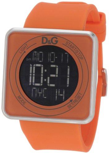 D&G Dolce & Gabbana Women's DW0738 High Contact Orange Dial & Strap Touch Screen (D&g Quartz Movement)