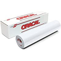 Oracal 651 Glossy Permanent Vinyl 12 Inch x 6 Feet - White