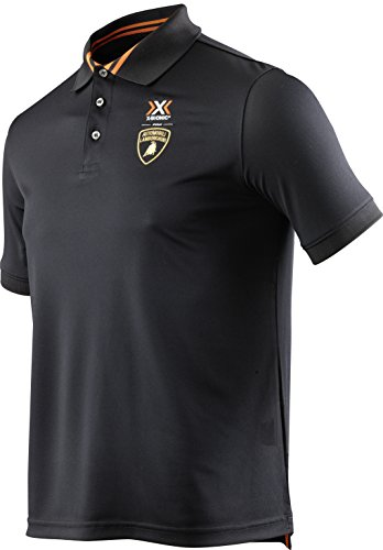 X Camiseta Lamborghini Short Hombre Flag Style Sleeve Negro Polo Ow Man Para Pro Tech Automobili bionic For Ix0Iqrw