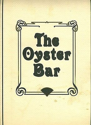 Oyster Bar Menus & Wine List Stouffer Westchester Hotel White Plains New - White Plains Westchester The