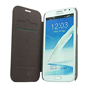 LZX Automatic Wake/Sleep Flip PU Leather and Protective Case for Samsung N7100