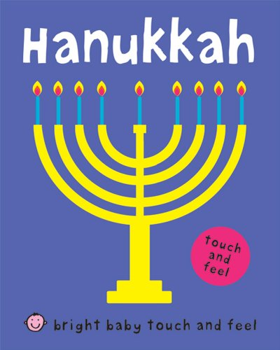 Bright Baby Touch and Feel Hanukkah [Board Book]