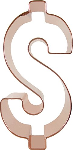 CopperGifts: Dollar Sign Cookie Cutter ()