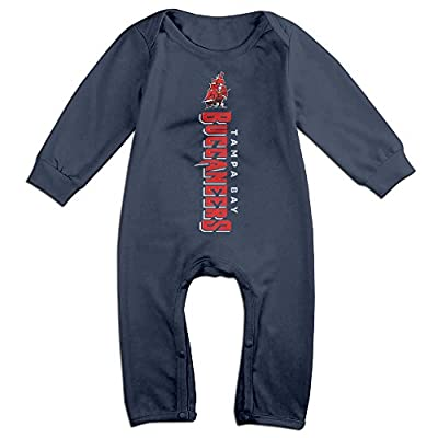 HOHOE Boy's & Girl's Tampa Bay Football Logo Long Sleeve Bodysuit Outfits