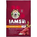 Iams Proactive Health Adult Dry Dog Food Beef And Rice, 7 Lb. Bag