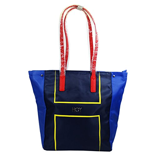 Seven Shopper Hoy Nylon Bolso por Mujer Chica Fashion al Hombro Shopper Tote