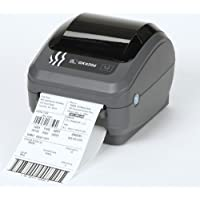 Zebra GK42-202511-000 GK420D Direct Thermal Printer, Monochrome, 6 H x 6.75 W x 8.25 D, With USB, Serial, and Parallel Connections and Dispenser