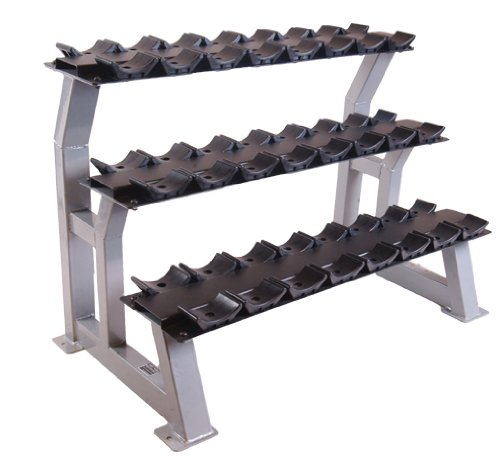 CAP Barbell 3 Tier 43'' Dumbbell Rack w/Saddles