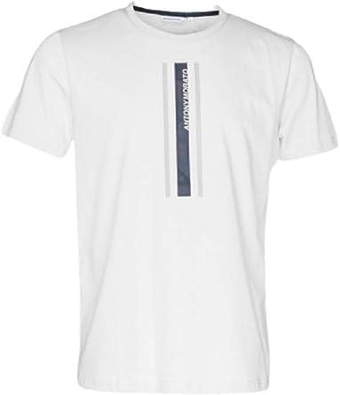 Antony Morato Camiseta Hombre MMKS01836-FA100144 Col:1013 ...