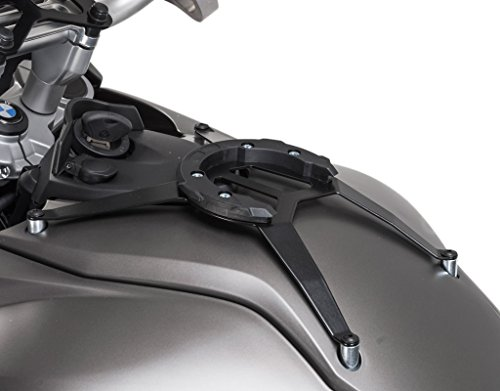 SW-MOTECH Bags-Connection QUICK-LOCK Type 201 EVO Tank Bag Bottom Tank Ring for BMW F650GS '08-'12, F700GS '13-'16, F800GS '08-'16 & F800GS Adventure - Connection Bags Bag Tank