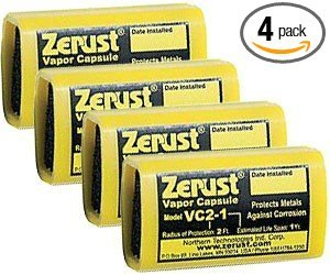 - Zerust 11327 Anti-Rust And Corrosion Vapor Capsules, 4-Pack