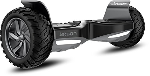 Jetson V8 Self Balancing Scooter with All-Terrain Tires, Built In Speakers and 3 Speed Modes