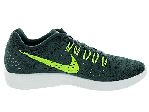 Nike Mens Lunartempo Classic Charcl / Volt / Blk / Scarpe Da Corsa Bianche 8.5 Uomini Noi