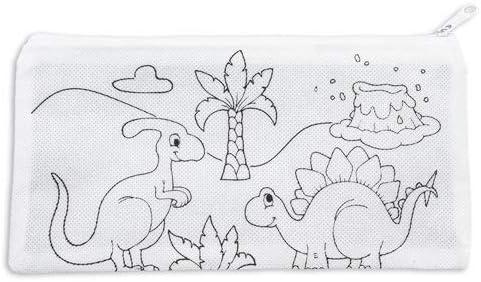 Lote de 30 Estuches para Colorear Infantiles Dinos con 4 Ceras Incluidas + 3 Libretas Bloc Notas Floral - Estuches con Pinturas para Pintar. Estuches Regalos para niños Comuniones: Amazon.es: Juguetes y juegos
