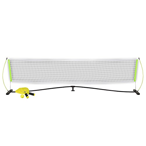 Franklin Sports Pickleball Starter Set - Official Starter Set of the US Open - Includes Net, Paddles (2), and X-40 Pickleball